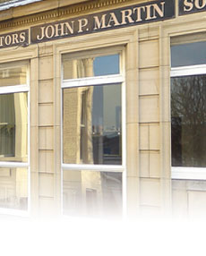 Photograph of the offices of John P. Martin Solicitors (Scarborough)